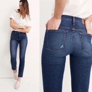 Madewell Slim Straight Jeans Pants Blue 30